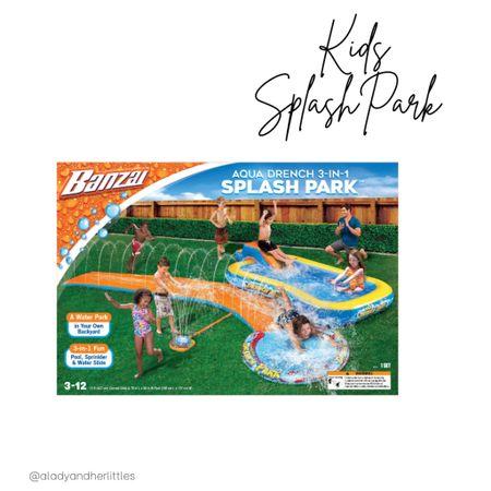 Summer outdoor play, water play, kids splash pad, Aqua park, amazon kids, amazon finds, Water park for kids.    #LTKunder50 #LTKkids #LTKfamily