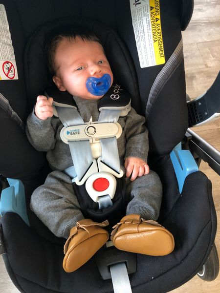 My handsome little man dressed in his new NSALE outfit to drop off his big brother at preschool and go for a walk with mama. Linking his outfit and everything else you see here along with a few others I ordered for him from the Nordstrom Anniversary Sale.   #LTKsalealert #LTKbaby #LTKunder50