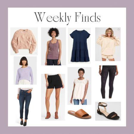 Weekly Fashion Finds ✨#target #targetstyle #jcrew #tjmaxx #nordstrom #nordstromrack  #LTKsalealert #LTKstyletip #LTKunder100