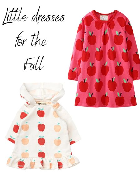 Little dresses for the fall, for when you take your girl to the Apple barn or the pumpkin patch!  #LTKSeasonal #LTKfamily #LTKkids