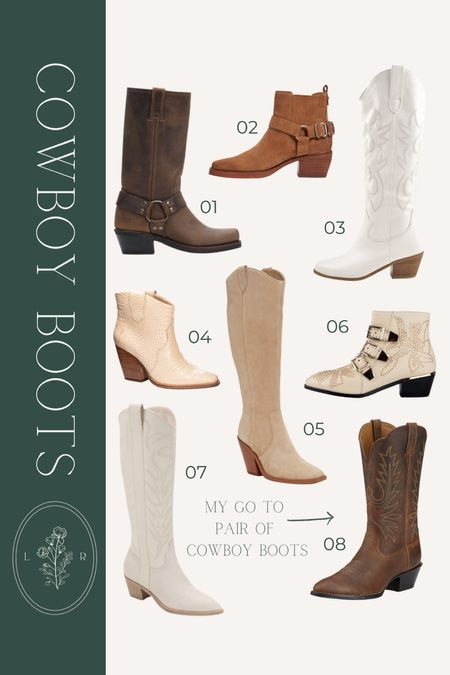 fall trend to try: cowboy boots, western boots! sharing a variety of styles (OTK, bootie, and tall) at various price points   #LTKunder100 #LTKshoecrush #LTKstyletip