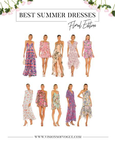 The best floral dresses for summer weddings, bridal showers, and vacation from Revolve clothing!   #LTKunder100 #LTKwedding #LTKstyletip
