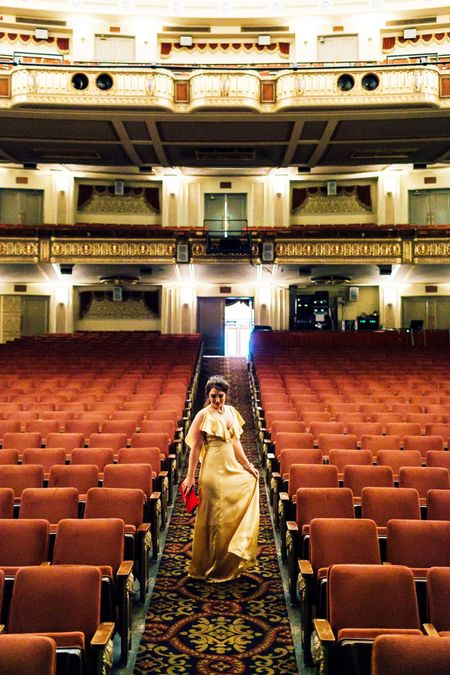 A big thank you to the Orpheum Theater for allowing us to borrow their building for our shoot! I've linked 8 other gorgeous yellow gowns most below $200! ||dresses and outfit details linked here 👉🏻 http://liketk.it/2qKjm 👈🏻 #liketkit @liketoknow.it || #taleasoldastime