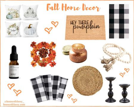 Fall Home Decor! Affordable home items to help you decorate for fall and Halloween! Shop my daily looks by following me on the LIKEtoKNOW.it shopping app http://liketk.it/2X6N4 #liketkit @liketoknow.it #LTKhome #LTKunder50 #LTKstyletip