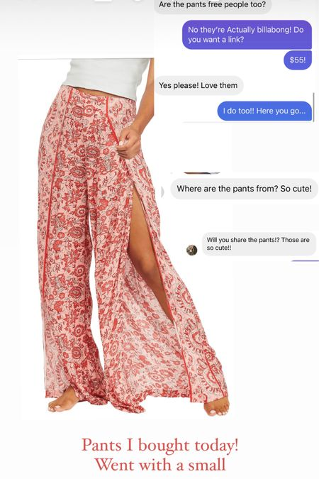 Cute summer pants run TTS @liketoknow.it #liketkit http://liketk.it/3huDx #LTKunder100 #LTKstyletip #LTKtravel