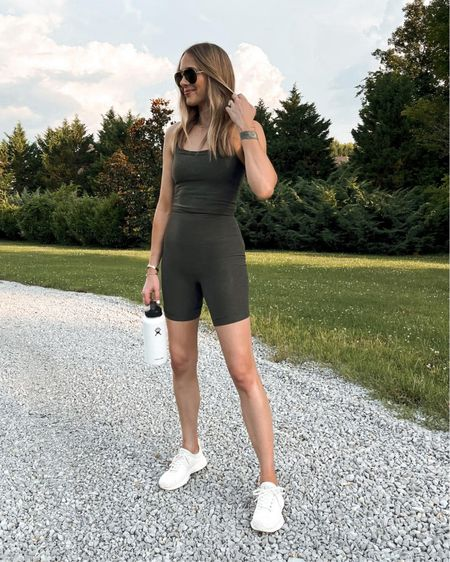 Love this workout tank and biker shorts from Backcounty for summer! So soft and comfortable http://liketk.it/3idXY  #liketkit @liketoknow.it #LTKfit #LTKunder50 #LTKunder100