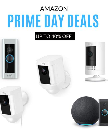 Ring cameras are on sale for Amazon Prome day up to 40% off! http://liketk.it/3i3K1 @liketoknow.it #liketkit #LTKsalealert #LTKunder100 #LTKhome