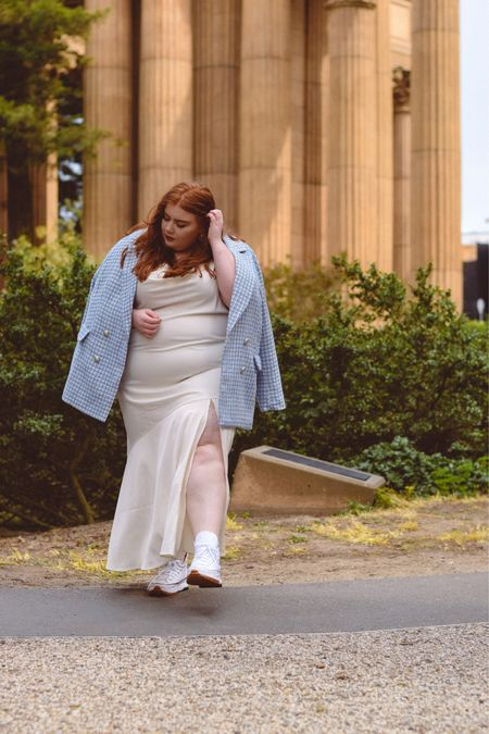 Love this dress with sneakers!   #LTKshoecrush #LTKcurves #LTKstyletip