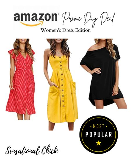 Amazon Prime Day is here! Check out these summer dresses on sale! http://liketk.it/3i5hg #liketkit @liketoknow.it #LTKunder50 #LTKsalealert #LTKstyletip