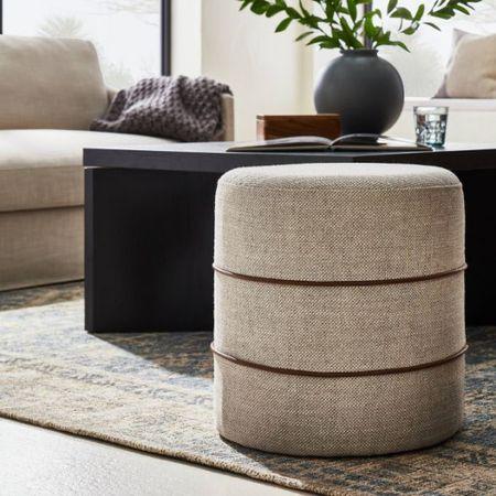 Target Studio McGee in stock now! Ottoman, coffee table, vase (coming soon), living room inspo   #LTKhome #LTKsalealert #LTKunder100