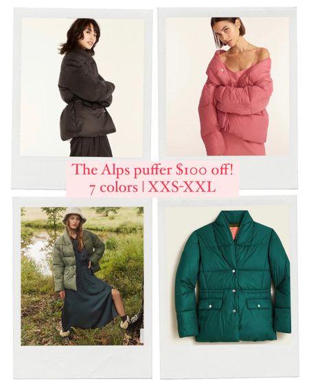 Was $198 | now $98 love this @jcrew Alps puffer jacket   #LTKsalealert #LTKunder100 #LTKGiftGuide