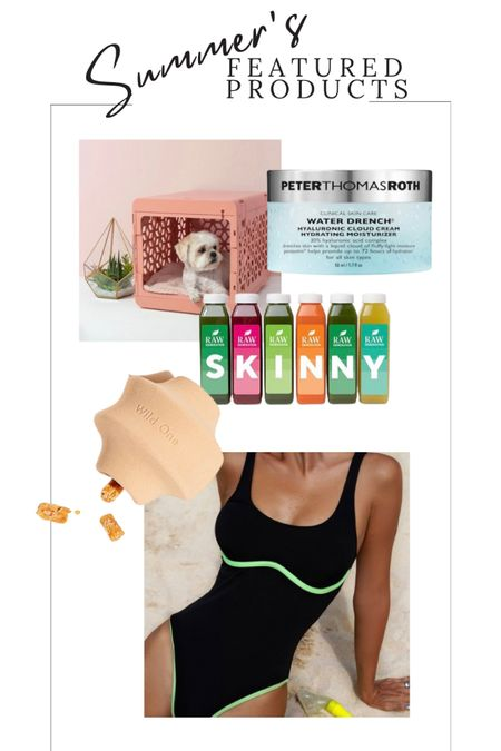 Summer Most Loved Products For Dog Moms. Peter Thomas Roth Water Drench Eye Patches And Moisturizer. Pastel Dog Crates. SHEIN Swimwear. WILD ONE Chew Treat Dispenser Dog Toy.  Shop this pic below. Follow @lindseyandcoco on @liketoknow.it for more deals and sales. So glad you are here!💕  http://liketk.it/3gEBa #liketkit #LTKbeauty #LTKhome #LTKswim @liketoknow.it.home