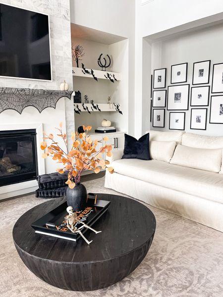 Halloween living room decor!   #LTKsalealert #LTKhome #LTKSeasonal