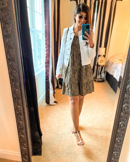 This is probably my favorite dress I've bought recently. I've found that pairing it with a with jean jacket looks really nice too!  Dress in an XS Jacket in an XS   http://liketk.it/3cQUa #liketkit @liketoknow.it   #LTKunder50 #LTKunder100 #LTKsalealert @liketoknow.it.family Follow me on the LIKEtoKNOW.it shopping app to get the product details for this look and others