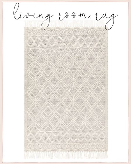 Here's our new living room rug! I was worried it wouldn't be soft, but it is very comfortable under the foot! Gives the space a very cozy feel. I have some friends who own this and they say it's also very kid friendly! Currently on sale 60% off   #LTKhome