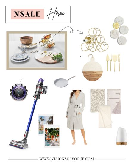 My favorite home decor deals from the Nordstrom Anniversary Sale (NSALE)! The Dyson vacuum is absolutely worth it! I love the Barefoot Dreams blankets (they will sell out!) and the wine rack, coasters, cheese board, and diffuser are great for entertaining!   #LTKhome #LTKsalealert #LTKunder50