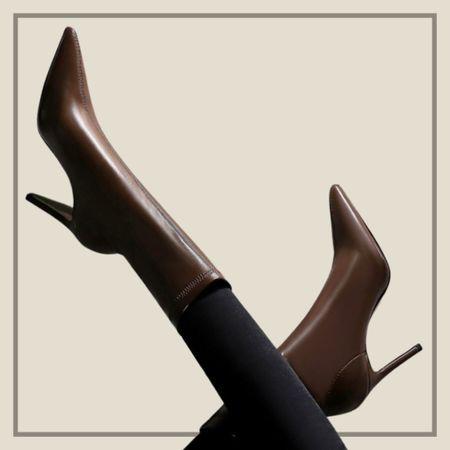 Minimalist pointed toe classic stiletto boots  #LTKshoecrush #LTKstyletip #LTKunder50