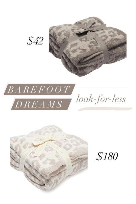 Barefoot dreams leopard blanket dupe! Get this look for less on Walmart.com   #LTKunder50 #LTKGiftGuide #LTKHoliday