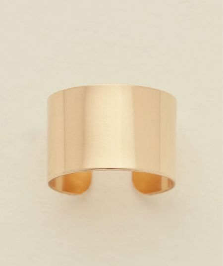 Favorite Gold Band from Made By Mary!   #jewelry #goldrings  #LTKunder100 #LTKbeauty