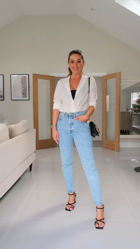 If only getting ready was this easy…!  Sizes Shirt 2 Jeans 26 28 Heels 5 (usual size is 4.5)