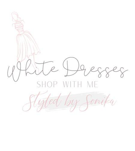 White dresses  #LTKwedding #LTKtravel #LTKunder50