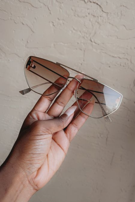 No shade. Just cute. Cute sunglasses from NastyGal is all I wear and all I know. #sunglasses #aviators #affordablesunglasses #affordableeyewear #affordablesunnies   #LTKunder50 #LTKSeasonal #LTKSpringSale