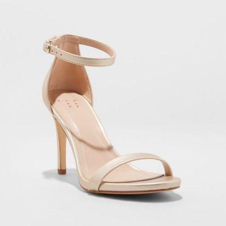 Nude sandals so affordable   #LTKshoecrush #LTKunder50