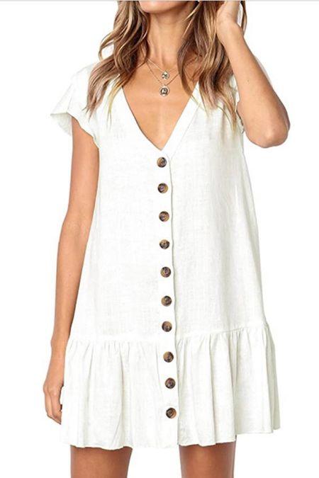 Summer Dresses. Dresses from Amazon. Under $50 ✨   #LTKunder50 #LTKstyletip #LTKSeasonal