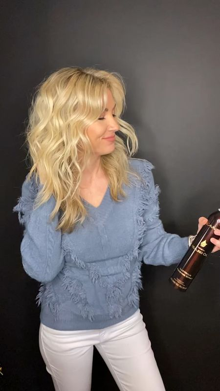 2 in 1 healing oil hairspray with a heat protectant. Must have for blondes.   #LTKstyletip #LTKunder50 #LTKbeauty