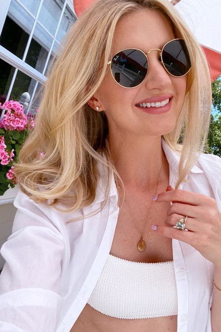 White bikini and cover-up! http://liketk.it/3gjgk #liketkit @liketoknow.it