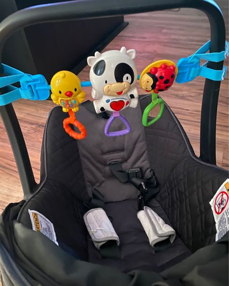 Car seat toys, it makes noise if you push a button! But only if you turn it on lol  @liketoknow.it.home @liketoknow.it.family #LTKbaby #LTKkids #LTKunder50 @liketoknow.it #liketkit http://liketk.it/3girF          Car seat toy Baby's toys Kid toys