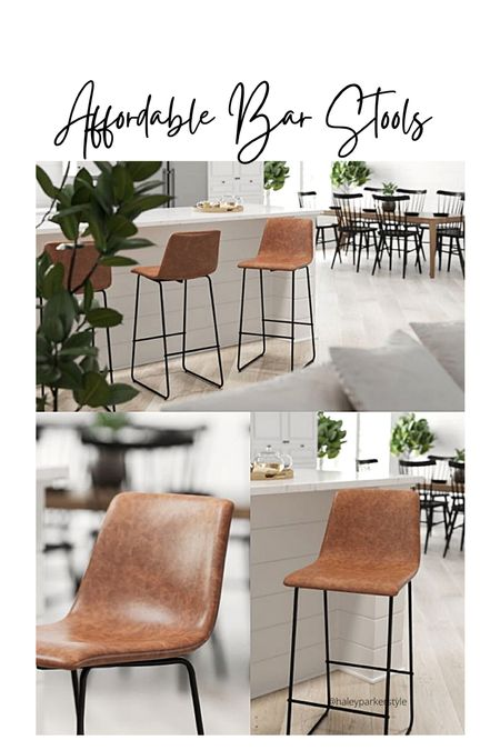 Affordable bar stools Target home decor Kitchen stools  Merrick Lane 30 inch Faux Bar Height Bucket Seat Stools, Set of 2  #LTKhome #LTKfamily #LTKstyletip