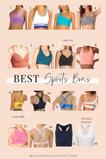 Amazon fashion find 💕 I'm rounding up the best sports bras on Amazon I've found for the active mom! http://liketk.it/3i7z6 #liketkit @liketoknow.it #LTKfit #LTKunder50 #LTKstyletip