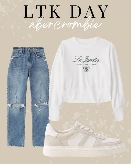 LTK day. Abercrombie sale. Fall outfit inspiration   #LTKSale #LTKstyletip #LTKshoecrush