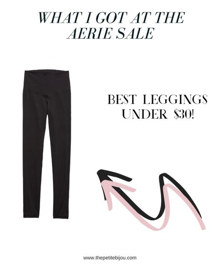 If you are looking for the best leggings , Aerie is having a major sale! I got these leggings for $27 and if you shop the sale, all bras, underwear, and swimsuits are only $20! Such a great sale for loungewear and beachwear   Shop the leggings here: http://liketk.it/2OAsN #liketkit @liketoknow.it #StayHomeWithLTK #LTKsalealert    Follow me on the LIKEtoKNOW.it shopping app to get the product details for this look and others