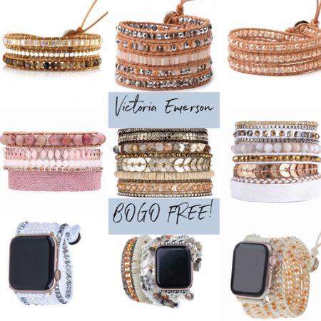 LTK DAY! Victoria Emerson: BOGO FREE!  http://liketk.it/2SqIx @liketoknow.it #liketkit   #LTKDay #LTKsalealert #LTKunder50  Bracelets, wraps, boho cuffs, accessories, jewelry