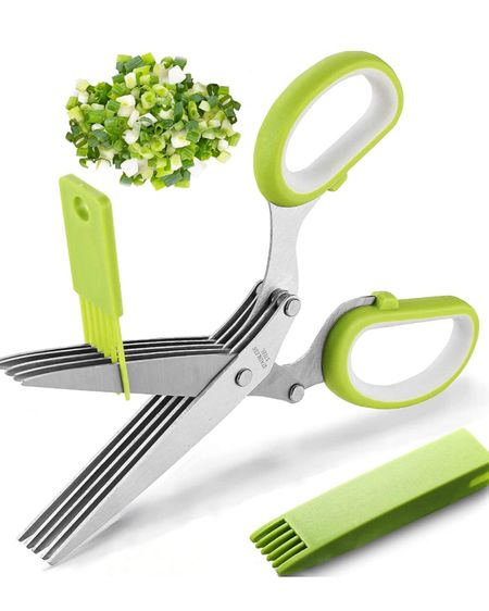 Love my herb scissors! I use these all of the time. Definitely a great addition to your kitchen utensil drawer! http://liketk.it/3hjHW #liketkit @liketoknow.it #LTKhome #LTKunder50
