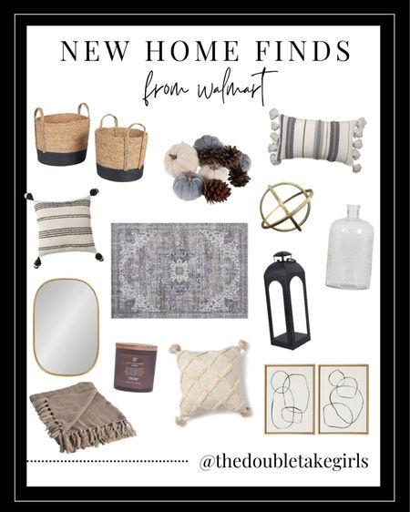 Hooray for new home finds at @walmart! From pillows and mirrors to baskets and throws - these new arrivals are SO good and start at just $15! This rug is under $100 and is washable too! 👏 Take a screenshot to easily shop it all!   #LTKhome #LTKstyletip #LTKunder100