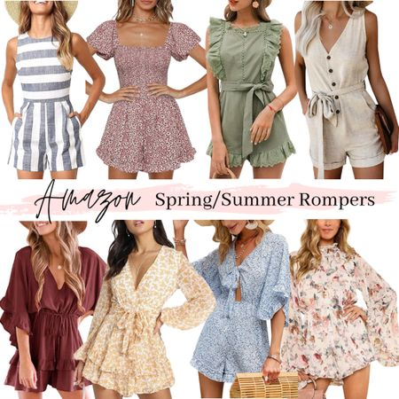 Amazon fashion Amazon prime day Romper Summer outfit idea Beach style Vacation outfits   #amazonromper #romper #beachoutfit #vacationstyle #amazonfashion #amazonfinds #summeroutfit #amazon #jumpsuit  #summerstyle #founditonamazon #amazonprime #primeday #amazonprimeday #primedaydeals  #LTKSeasonal #LTKunder50 #LTKunder100