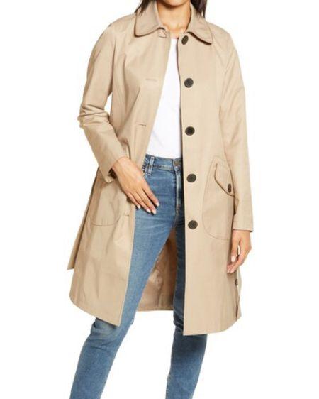 Sam Edelman trench coat | water repellent coat | winter coat | fall coat | camel trench coat | cream coat | nsale | Nordstrom sale #LTKsalealert #LTKstyletip #LTKcurves @liketoknow.it #liketkit http://liketk.it/2VxXl