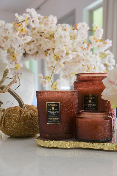 Voluspa Forbidden Fig Candle, so gorgeous for fall decorating  Fall decor, home decor, candles   #LTKSeasonal #LTKhome #LTKGifts
