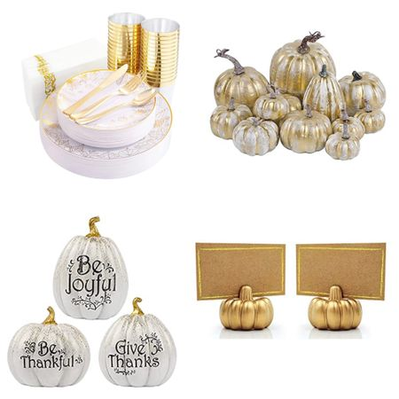 Thanksgiving holiday table decorations and settings   #LTKHoliday #LTKSeasonal #LTKhome
