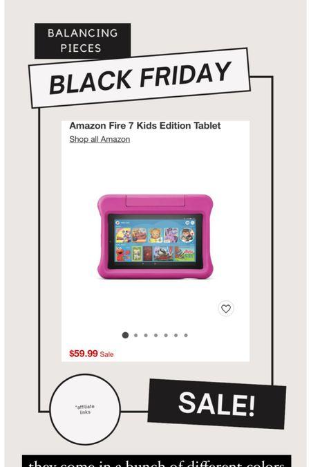 Amazon Fire Tablets! Come in a few colors. Parental settings are amazing and they have an amazing warranty! http://liketk.it/32myL #liketkit @liketoknow.it #LTKgiftspo #LTKsalealert #LTKunder100 @liketoknow.it.home #blackfriday #blackfridaysale