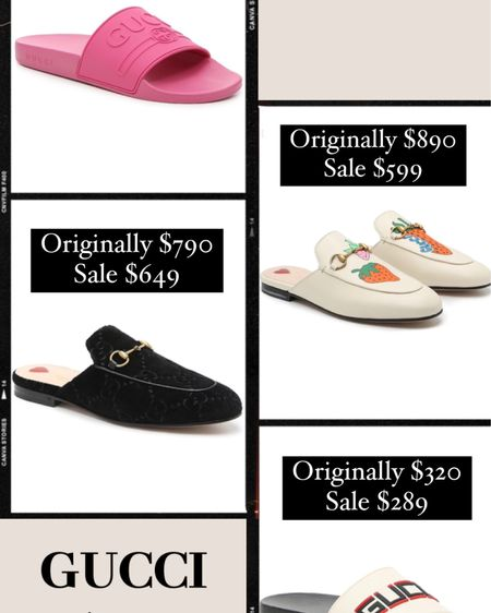 Gucci on major sale!! http://liketk.it/3g1w2 #liketkit @liketoknow.it #LTKshoecrush #LTKstyletip