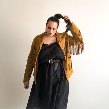 Fringe jacket as the new trends of 2021  #LTKunder100 #LTKSeasonal #LTKcurves