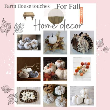 Fall Home decor … Perfect for Thanksgiving table Center!  My favorite wood riser and wood/marble tray!  Plenty of pretty pumpkins🎃🍂🍁 .   #LTKSeasonal #LTKhome #LTKstyletip