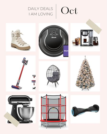 Walmart gift guide   Boots Sweeper Robot vacuum  Christmas tree Holiday decor Coffee maker Kitchen Mixer Kids fits #ltkkids #ltkseasonal  #LTKHoliday #LTKsalealert #LTKGiftGuide