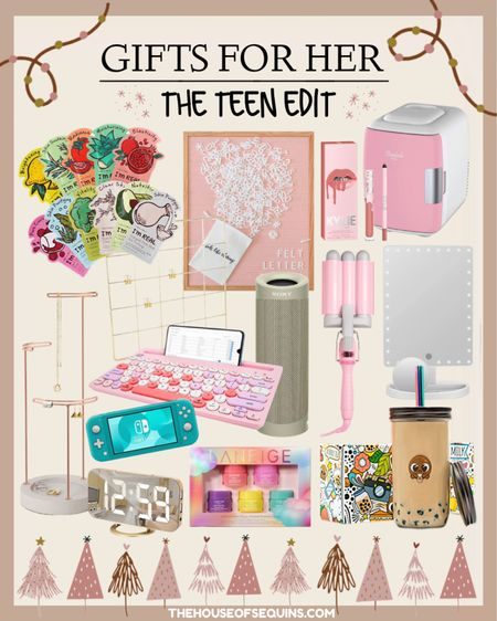 Teen Amazon Gifts for Her Teen Gifts for Her  Teen Gift Guide, gift ideas for teenage girls. Beauty gifts. Tech lover, girls room. houseofsequins   Follow my shop @thehouseofsequins on the @shop.LTK app to shop this post and get my exclusive app-only content!  #liketkit  @shop.ltk http://liketk.it/3pLoZ  Follow my shop @thehouseofsequins on the @shop.LTK app to shop this post and get my exclusive app-only content!  #liketkit  @shop.ltk http://liketk.it/3pLqw  #LTKkids #LTKbeauty #LTKGiftGuide