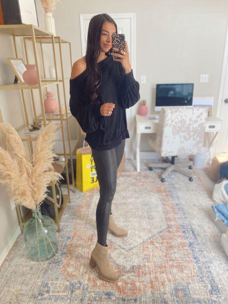 Small in leggings!   Nsale, Nordstrom sale, spanx leggings, ankle booties   #LTKsalealert #LTKstyletip #LTKshoecrush