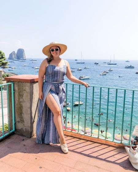 """Welp, better late than never 🤣  Recapping the dreamiest weekend spent in the Amalfi Coast last summer 🌞 right now, reminiscing on past experiences makes me more grateful than ever to have them 💙  I'll be sharing a few """"secrets"""" of that weekend later on my stories! Swing by the blog if you fancy a read and to see some dreamy photos if your wanderlust meter won't spill over 😂   http://liketk.it/2P9Y5 @liketoknow.it #liketkit #StayHomeWithLTK #LTKcurves #LTKeurope"""
